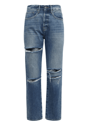 Le Original Destroyed Crop Denim Jeans
