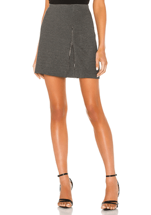 Bailey 44 Atherton Ponte Skirt in Grey. Size S.