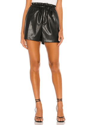 BB Dakota Friend Or Faux Short in Black. Size XS,M,L.