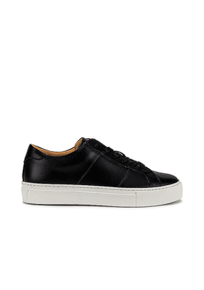 GREATS Royale Sneaker in Black. Size 10,7,7.5,8,8.5,9,9.5.