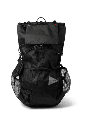 And Wander - CORDURA-Trimmed X-Pac Backpack - Men - Black