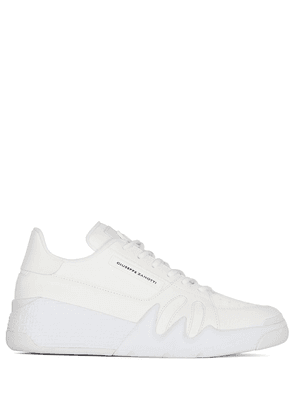 Giuseppe Zanotti low-top lace-up sneakers - White
