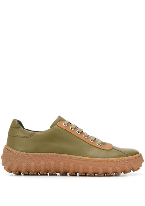 CamperLab ridged sole low-top sneakers - Green