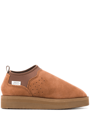 Suicoke slip-on low top boots - Brown
