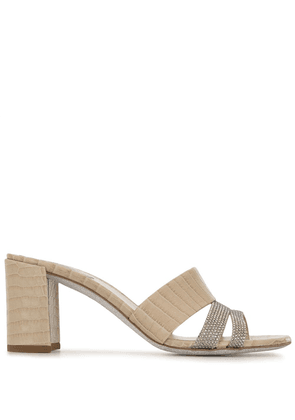 René Caovilla Ginger sandals - DO NOT USE - Beige