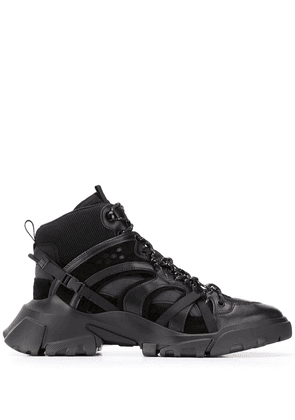 McQ Swallow Orbyt high-top trainers - Black
