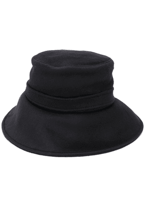 Alberta Ferretti felted bucket hat - Black