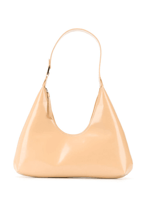 BY FAR Amber leather shoulder bag - Neutrals