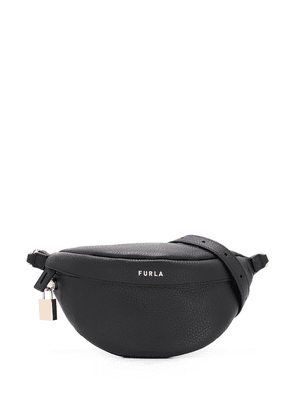 Furla Piper XI leather belt bag - Black