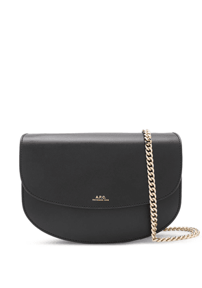 A.P.C. Genève Chain Clutch cross-body bag - Black