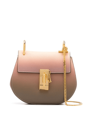Chloé mini Drew shoulder bag - PINK