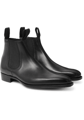George Cleverley - Robert Leather Chelsea Boots - Men - Black