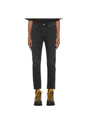 Acne Studios Black Slim Tapered-Fit Jeans