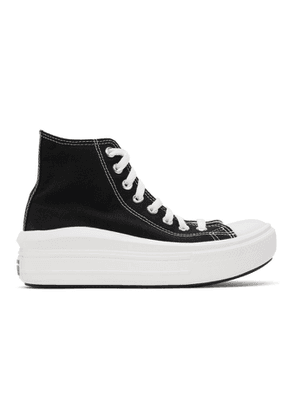 Converse Black All Star Move Platform High Sneakers