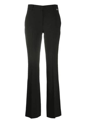 Twin-Set high waisted flared trousers - Black