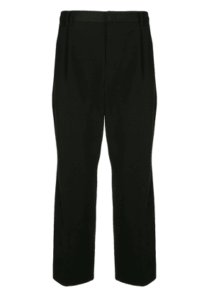Wooyoungmi cropped tailored trousers - Black
