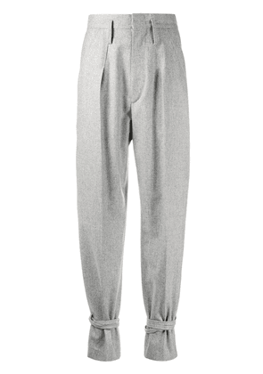 Isabel Marant Tacoma high-waisted wool trousers - Grey