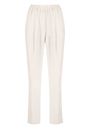 Forte Forte corduroy finish trousers - Neutrals