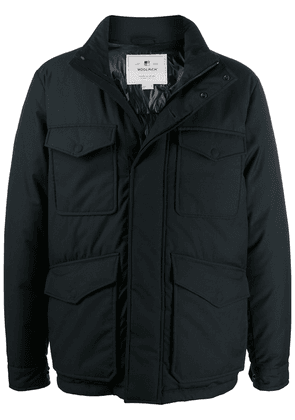 Woolrich padded zip-up jacket - Blue