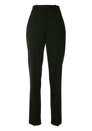 Bottega Veneta high-waist tapered wool trousers - Black