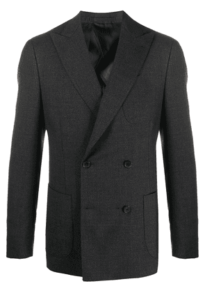 Lardini two-piece double breasted suit - Grey