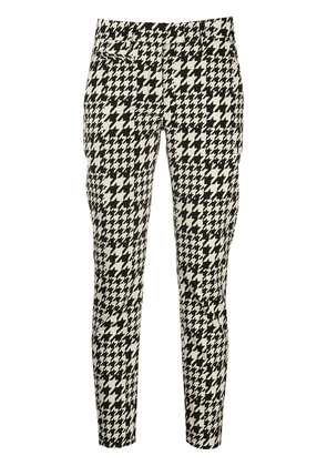 Dondup houndstooth trousers - Black