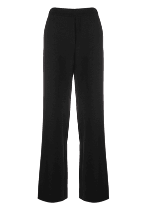 P.A.R.O.S.H. high waisted wide-leg trousers - Black