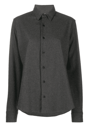AMI single-breasted shirt - Grey