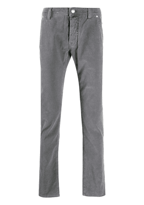 Jacob Cohen slim-fit washed trousers - Grey
