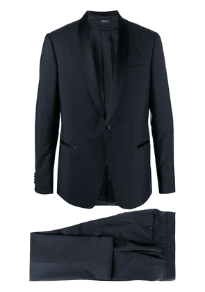 Z Zegna single-breasted suit - Blue