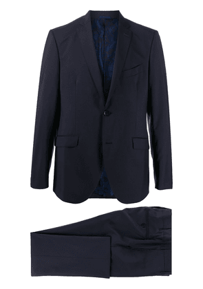 Etro single-breasted suit - Blue