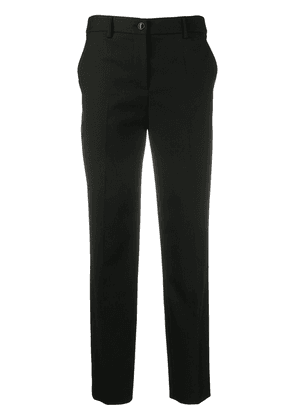 Boutique Moschino straight-leg trousers - Black
