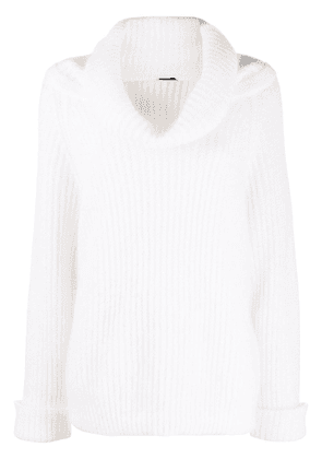 Tom Ford cowl neck jumper - Neutrals