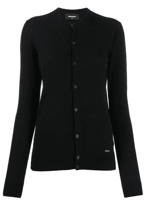 Dsquared2 button up cardigan - Black