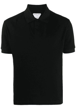 Bottega Veneta short sleeve polo shirt - Black