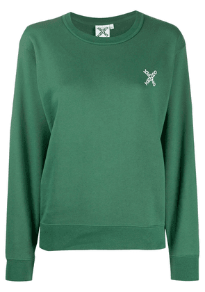 Kenzo chest logo print sweatshirt - Green