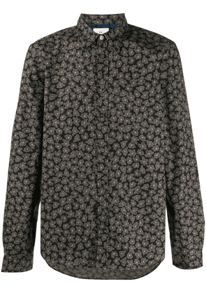 PS Paul Smith all-over floral print shirt - Black