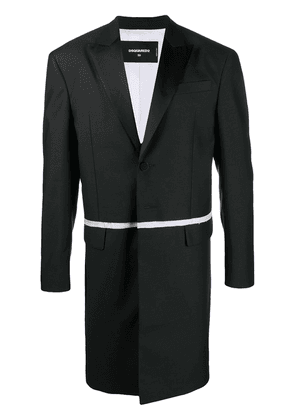Dsquared2 two-layer tailored coat - Black