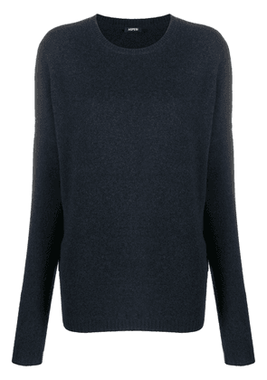 Aspesi long-sleeve wool jumper - Blue