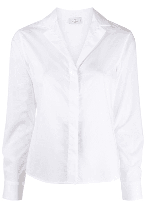 Etro Cuban collar shirt - White