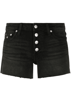 Calvin Klein Jeans mini denim shorts - Black
