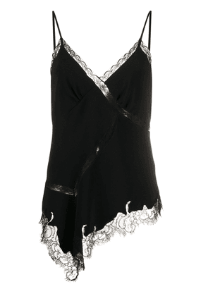 Ermanno Scervino lace detail camisole - Black