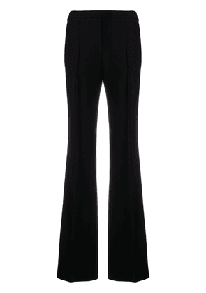 Theory high-rise flared trousers - Black