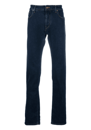 Hand Picked straight leg five pocket jeans - Blue