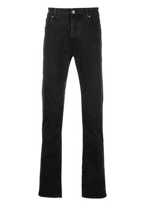 Hand Picked slim-fit five pocket jeans - Black