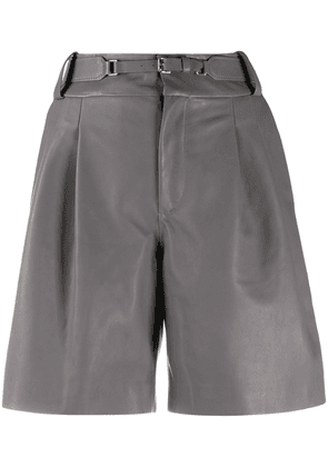 RedValentino belted tailored shorts - Grey