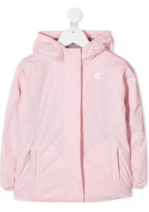 K Way Kids Lily hooded jacket - PINK