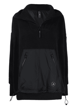 adidas by Stella McCartney zip-up fleece jacket - Black