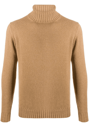 Dell'oglio long sleeve chunky knit jumper - Neutrals