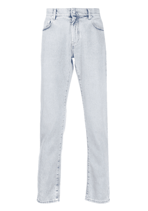 Off-White straight-leg light wash jeans - Blue
